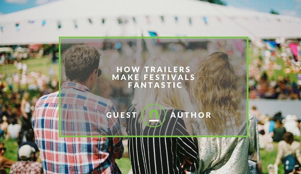 How trailers can be used at festivals