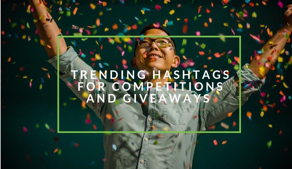 Trending hashtags for competitions