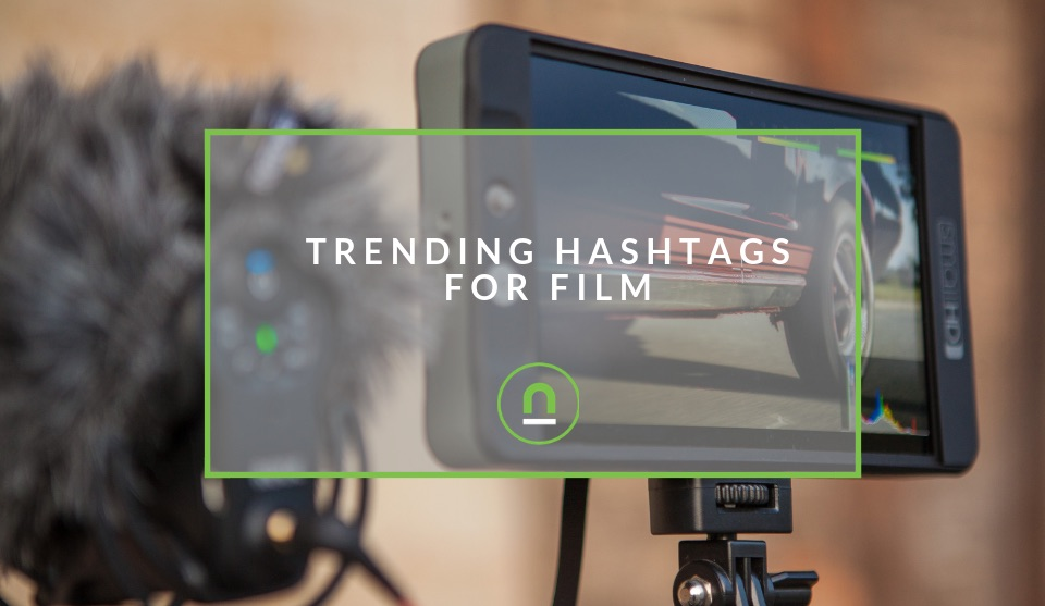 Popular Hashtags For Film & Videography