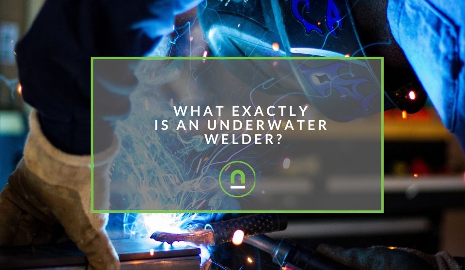 What an underwater welder does for a living