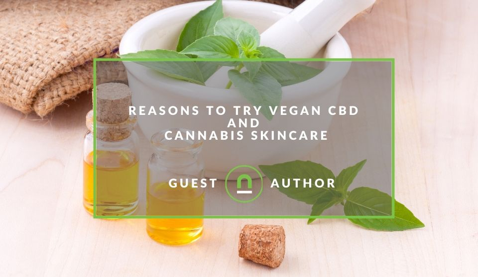Vegan CBD skincare benefits