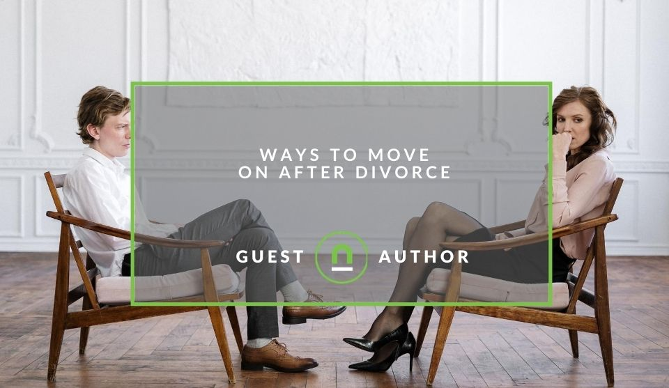 Plan to move on after divorce