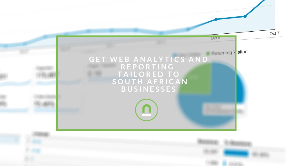 South African Web Analytics and reporting