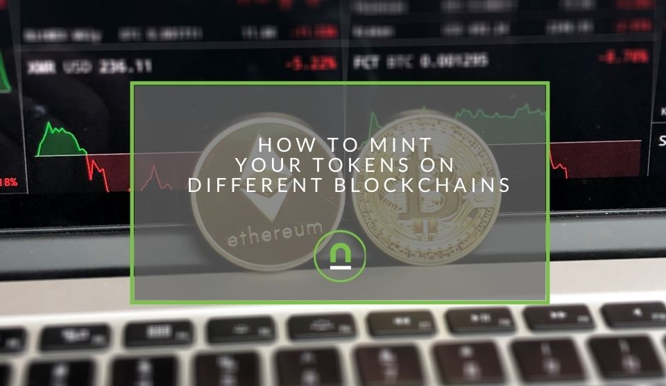 minting tokens on other chains