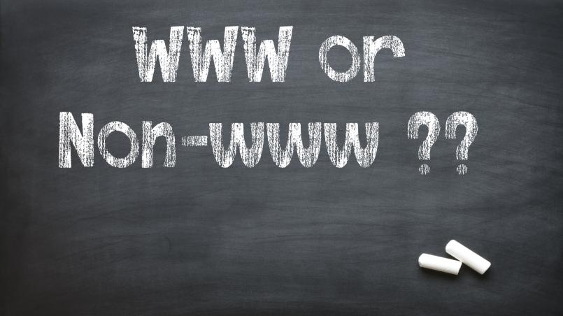 www or non-www website