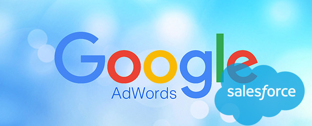 google adwords and salesforce logo