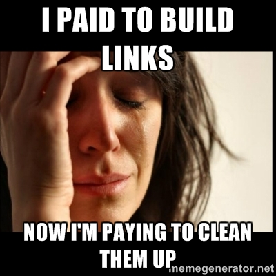 Paid links need to be cleaned up
