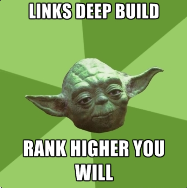 Yoda knows his backlinking