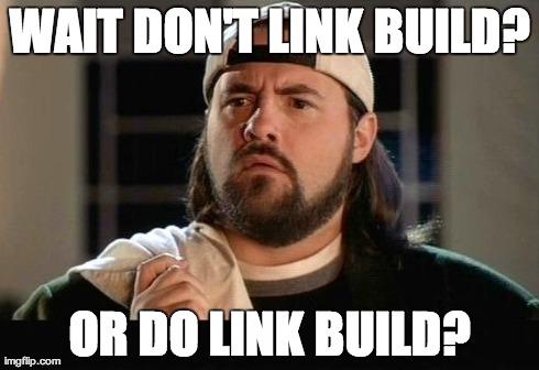 Silent bob questions link building