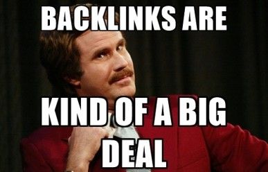 Ron Says Link building is a big deal