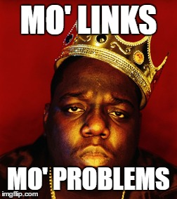 Mo links mo problems
