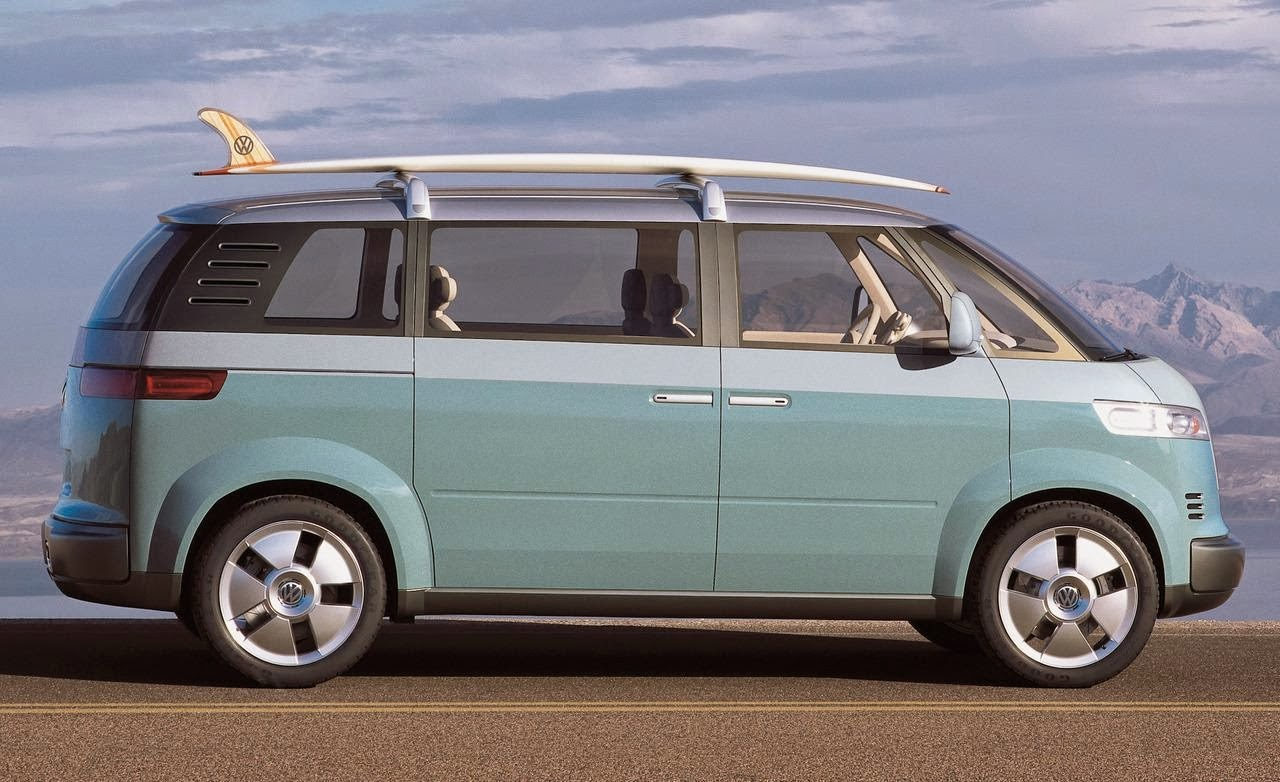 VW Microbus redesign