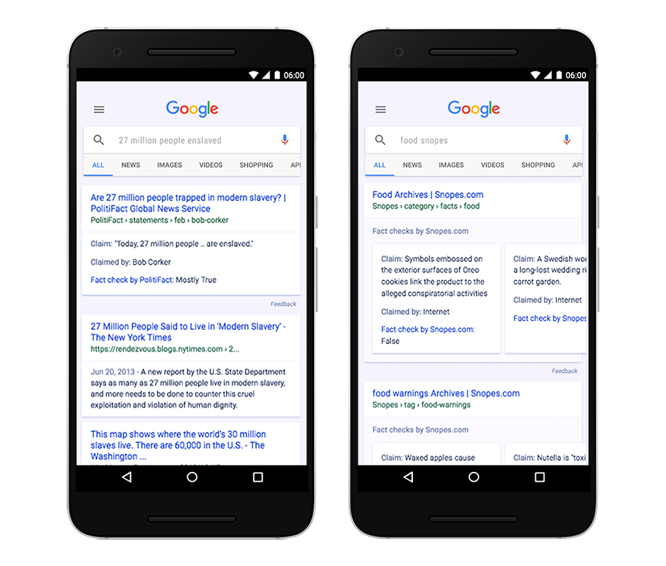 Google to combat spread of fake news