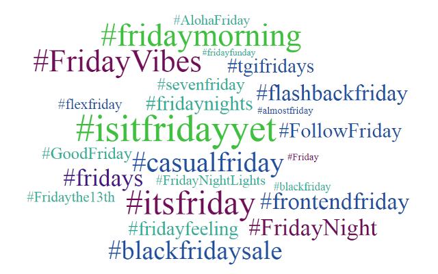 hashtags-fridays