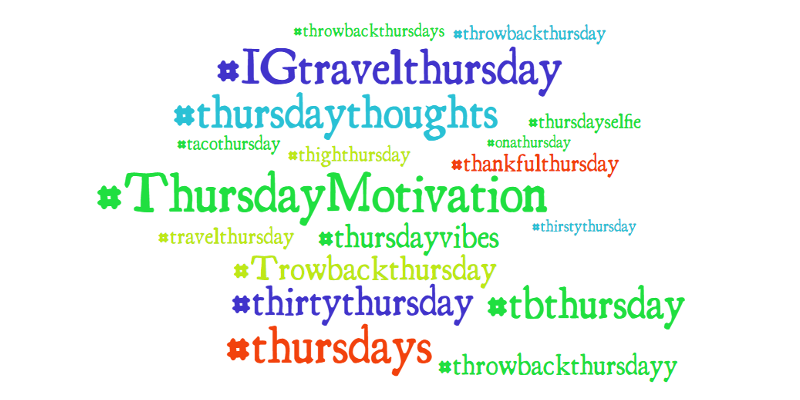 Get your posts noticed with #Hashtags for Every Day of the Week