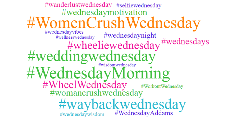 hashtags-wednesdays