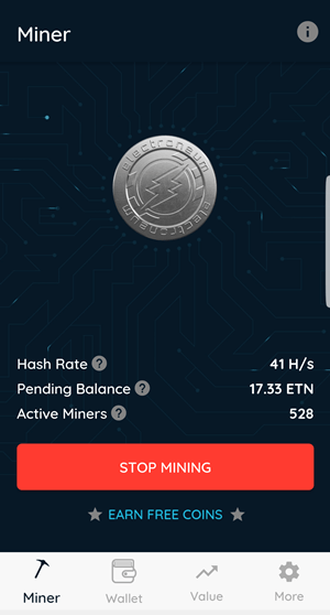 mine-electroneum-with-a-mobile-phone-beta-version