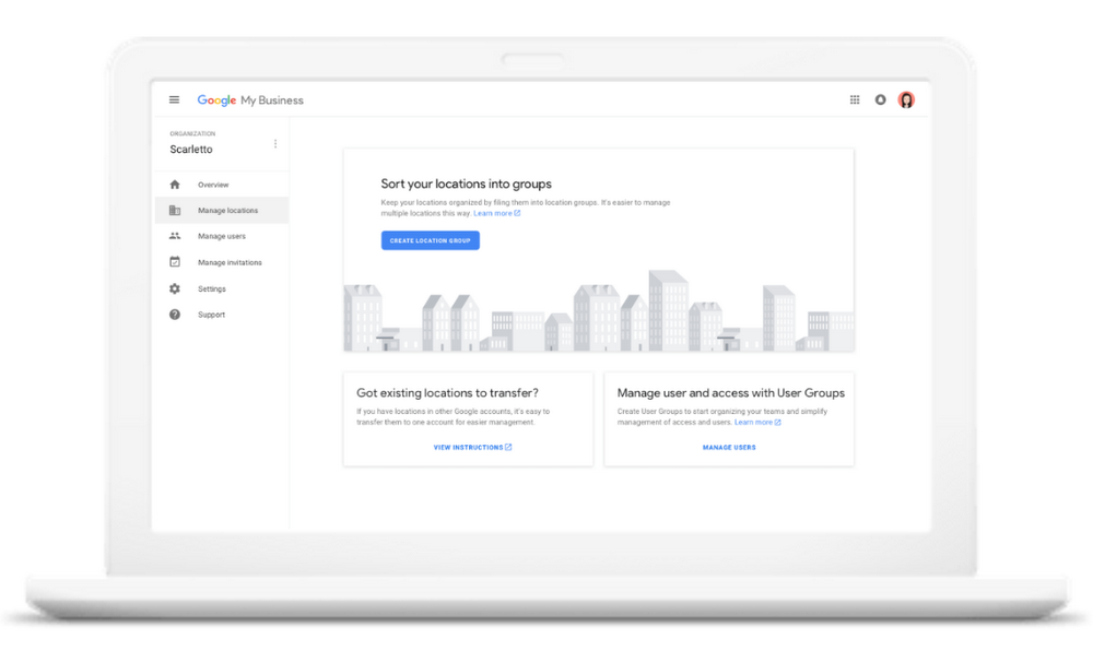 Google My Business Agency Dashboard