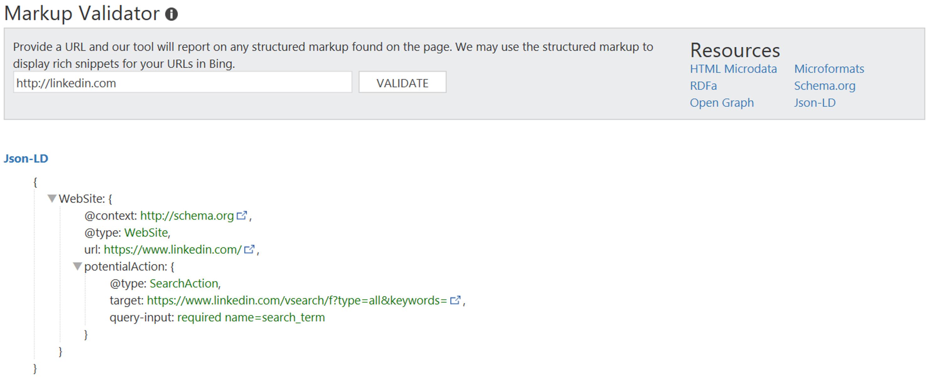 wmt-jsonld-markup-validator