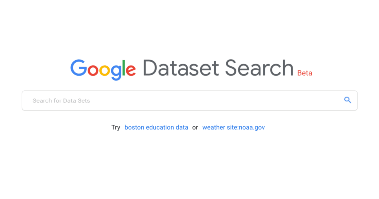 Google Data Search