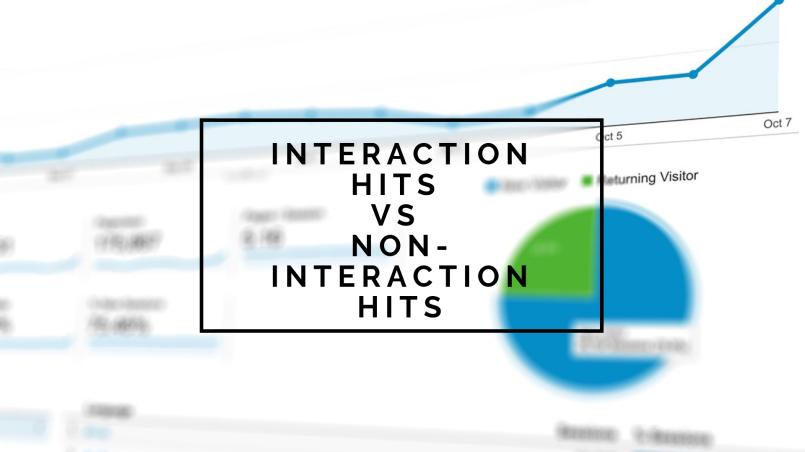 Interaction hits vs non interaction hits