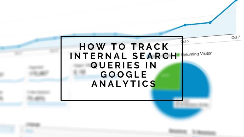 Track internal queries in GA